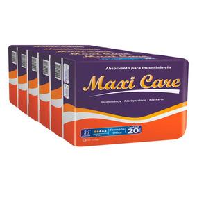 Absorvente Geriátrico Maxi Care Tamanho Ún. 6 X 20 = 120 Un