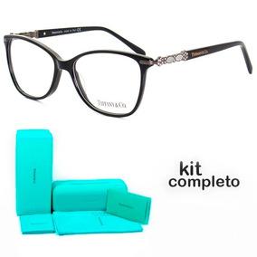 16daedac10d66 Armação De Grau Oculos Tiffany   Co Infinito Tf2130 + Kit