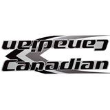 Adesivo Bicicleta Canadian X-terra Preto Frete Grátis