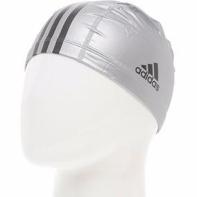 Gorro Natacion adidas Y Running Plata Negro Reflex Unitalla eabd44657d2