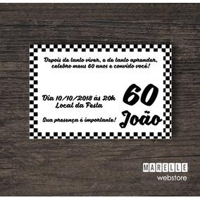 Convite Digital 60 Anos ~ 15x10