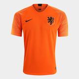 Camisa Seleção Holanda Home 2018 Torcedor Nike Masculina