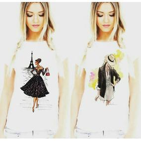 Roupas Femininas, Blusa, Camiseta, Tshirts Inspiração