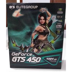 Placa De Vídeo Ecs Geforce Gts 450