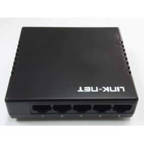 Switch 5 Puertos 10/100mbps Link-net Full Duplex