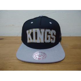 Boné Mitchell   Ness Los Angeles Kings Preto Sonar Original 2c49d4365e6