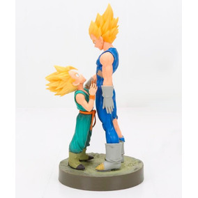 Vegeta E Trunks Super Sayajin - Action Figure Dragon Ball Z