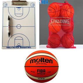 Kit 2 Balon Basquetbol Bgr6 + 1 Balonera + 1 Tabla Tactica 9a5f7d0dc479e