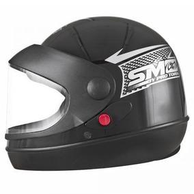 Capacete Fechado Sm Pro Tork Sport Moto For Girl Preto Rosa ... ce2735146f7
