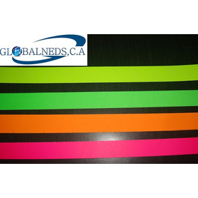 Brazaletes Personalizados Fluorescentes Full Color (10unid)