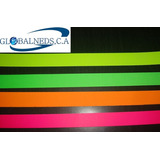 Brazaletes Personalizados Fluorescentes (10unid) 75 C/u