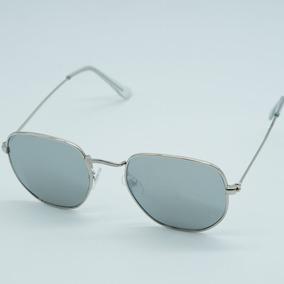 Oculos Cinza Claro Hexagonal - Óculos no Mercado Livre Brasil 824b0a2842