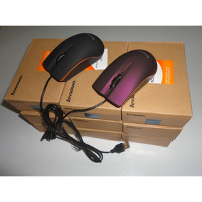Mouse Usb Optico Alambrico Marca Lenovo M20