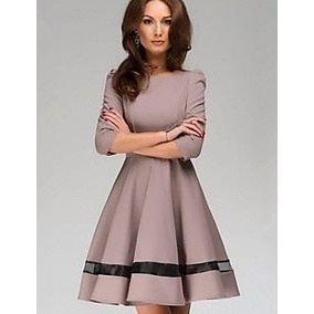 Vestido Elegante Moda Evangelica Cod#361