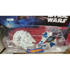 Star Wars Naves Hotwheels Halcon Milenario Y Mas