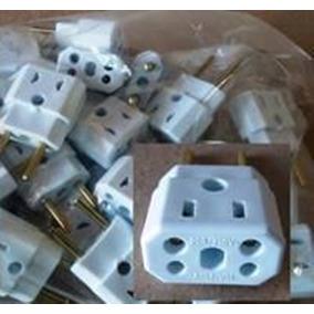 Adaptador 20 Amperes Para Tomada Elétrica 10 A Kit 5 Peças