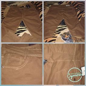Calça Colorida Tamanho 44 Forma Pequena Jeans Com Lycra