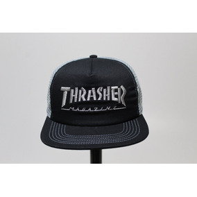 0a559272b5a0f Bone Aba Reta Thrasher - Bonés no Mercado Livre Brasil