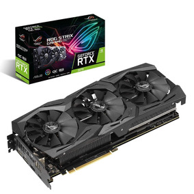 Tarjeta De Video Asus Geforce Rtx 2070 8gb Ddr6 Rog Strix