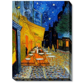 a61b06675732f5 Van Gogh Starry Night - Etiqueta Engomada De La Piel Cu-2505 por Ebay ·  Overstockart Van Gogh Cafe Terrace At Night Con Gallery Wrap