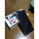 Samsung Galaxy A20 Com Pelicula 3d + Capa De Silicone