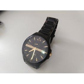 e8c17ed2125 Relogio Armani Exchange Preto Dourado - Relógios De Pulso no Mercado ...