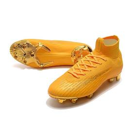Mercurial Vermelha E Dourada - Chuteiras Nike de Campo para Adultos ... 2244248ff2da5