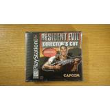 Resident Evil 1 Directors Cut Ps1 Ps2 Ps3 Playstation