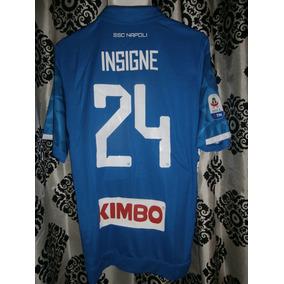 Jersey Ssc Napoli Local 2018 19 Lorenzo Insigne Serie A 56841a92fdc54