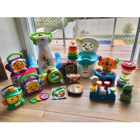 Lote 16 Brinquedos Fisher Price, Chicco E Playskoll