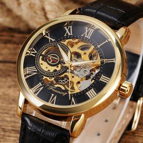 Reloj Piel Mecanico Automatico Original Envio Gratis