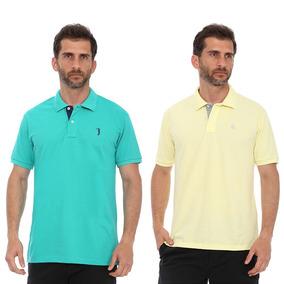 2900963d3c Camisa Polo 2 Cores Uniformes - Pólos Manga Curta Masculinas em São ...