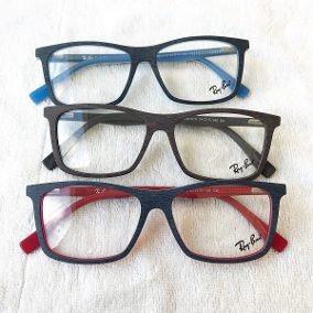 3f648d5db5f42 Armação Óculos De Grau Infantil Inquebrável Idade 6 A 9 Anos ...
