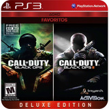 Call Of Duty: Black Ops & Black Ops Ii Ps3 Licencia Digital