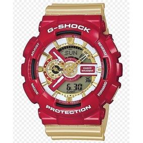 Relógio G Shock Ed. Limitada Homem De Ferro Colecionador
