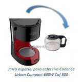 Jarra 15 Xácaras Para Cafeteira Cadence Urban Caf300