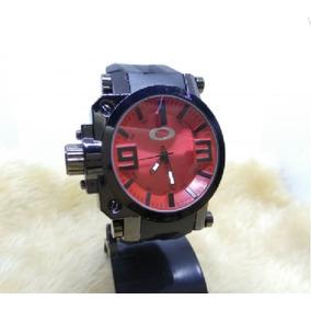 Relogio Oakley Crush Vermelho - Relógios De Pulso no Mercado Livre ... 0da46b8832