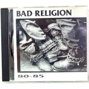 Bad Religion 80-85 Cd Original Ótimo Estado Importado 90e1a92db6