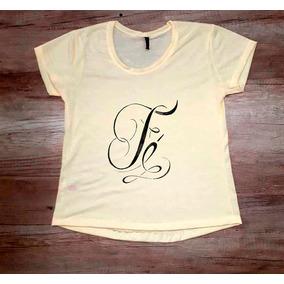 e9cd2bb95a Camiseta Feminina Fé Tamanho P - Camisetas e Blusas para Feminino em ...