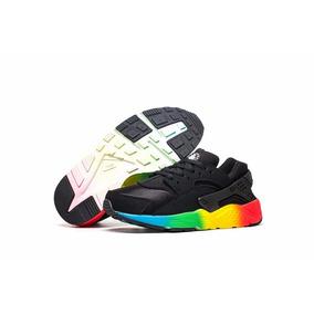 new concept 53f05 e0d5b Zapatillas Nike Huarache Run Niños Y Niñas 26 - 35 A Pedido