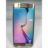 Samsung Galaxy S6 Edge G925i 32gb Dourad Usado Seminovo 2179