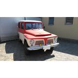 Ford Rural Standard 1972 4x4 Original 4 Marchas Em Cima