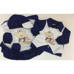 Promoção 4 Kits Saída Maternidade Bebe+ Presente Surpresa