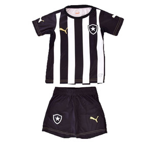 523cd452b1 Kit Puma Botafogo Infantil Camisa E Calção - Frete Gratis