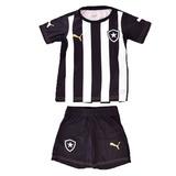 Kit Puma Botafogo Infantil Camisa E Calção - Frete Gratis 69ae869b91af4