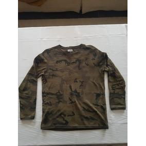 Camisa Tipo Camo Camuflajeada Talla Xl Zara Man
