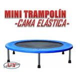 Mini Trampolin Cama Elástica Para Juego, Deporte O Gimnasio