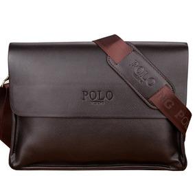 Bolsa Masculina De Couro Polo Pasta Grande f556f5fad2c