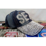 Gorra Truckers Damas Mujer Dallas Glams C strass Sexy Woman f5dc6ee327c