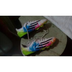 Zapatos adidas Para Niños Talla 32. Usado · Zapatos adidas Messi Original Taco  Futbol Campo Talla 35 16ada51cdebd0